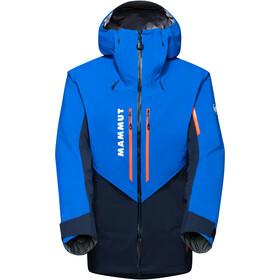 Mammut La Liste HS Hooded Jacket Men, bleu/turquoise
